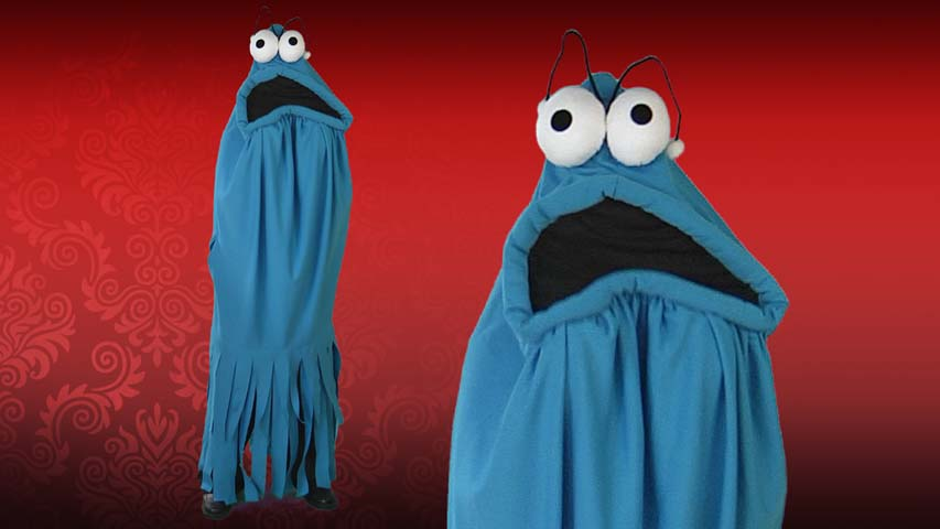 Adult Blue Monster Madness Costume
