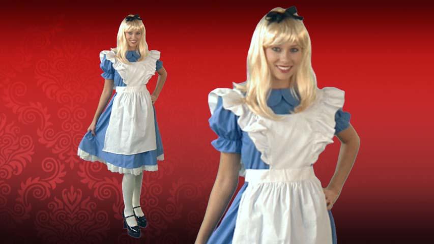 Adult Deluxe Alice Costume