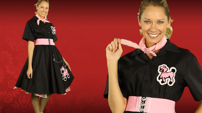 Adult Deluxe Poodle Skirt