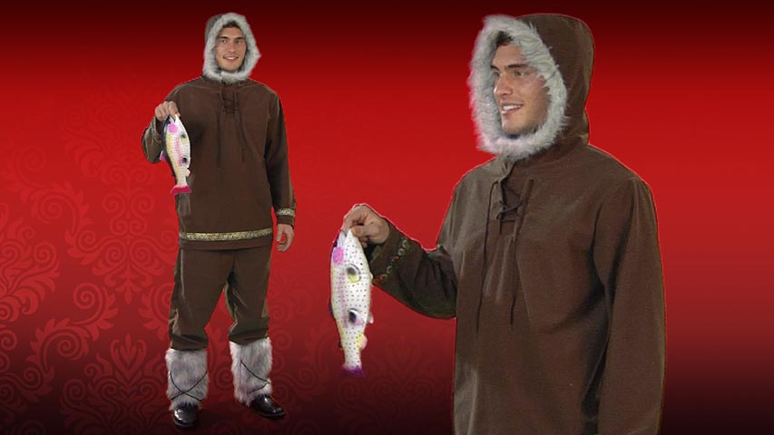 Adult Eskimo Boy Costume