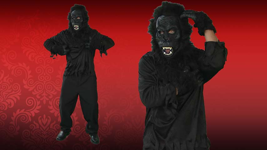 Adult Jungle Gorilla Costume with Sound