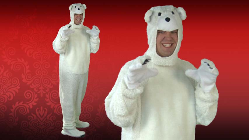 Adult Polar Bear Costume