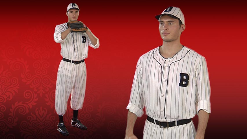 Adult Vintage Baseball Player