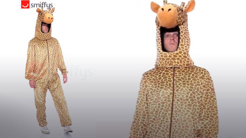 Adult Wild Giraffe Costume