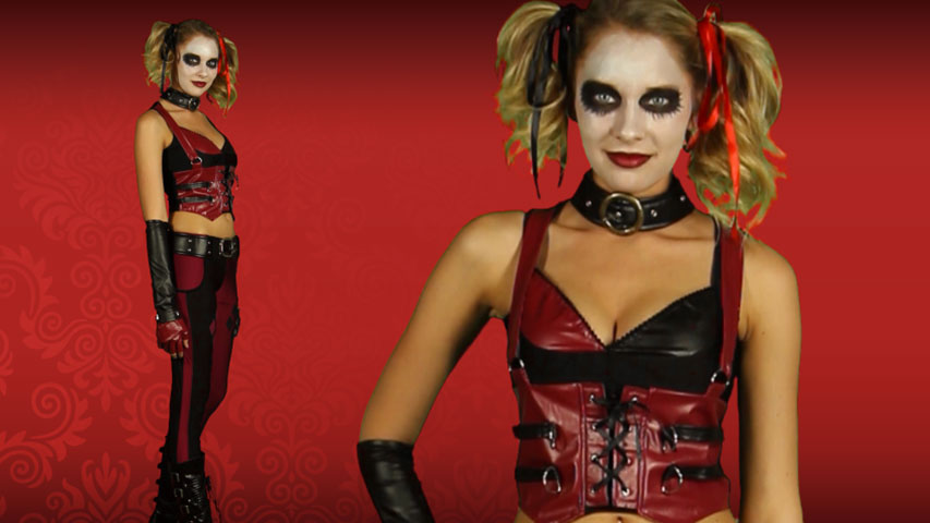 Video for Arkham City Harley Quinn Costume