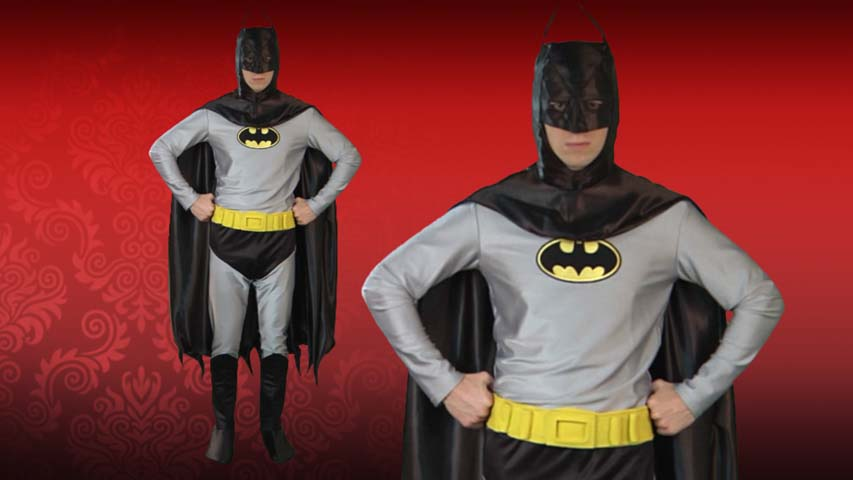 Authentic Classic Batman Costume