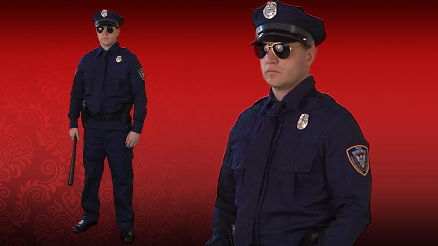 Authentic Cop Costume