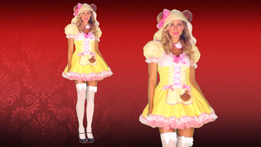 Beary Cute Goldilocks Costume