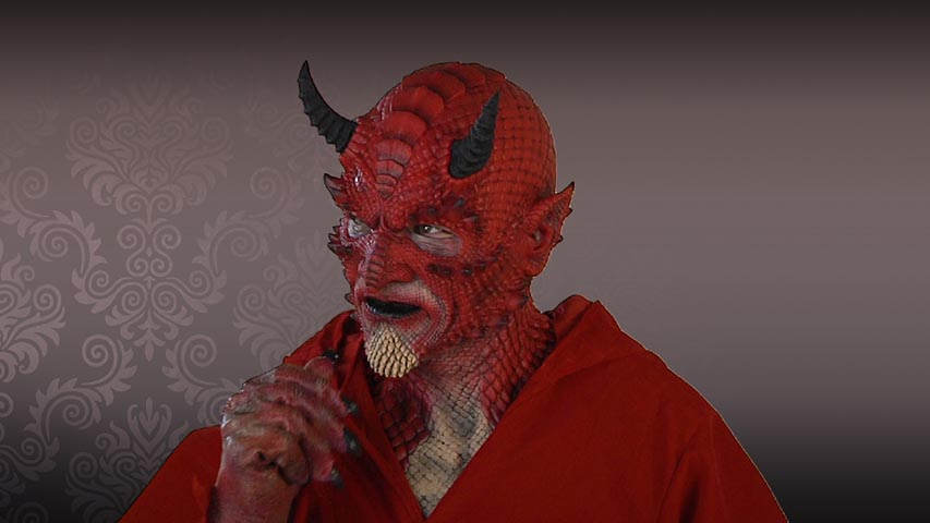 Belial Demon Red Mask