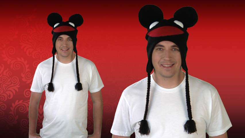 Black deadmau5 Peruvian Hat