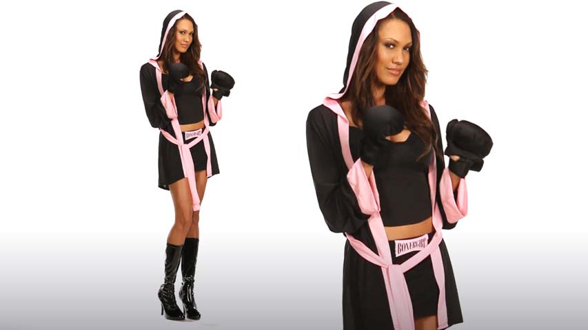 Boxer Girl Costume Video