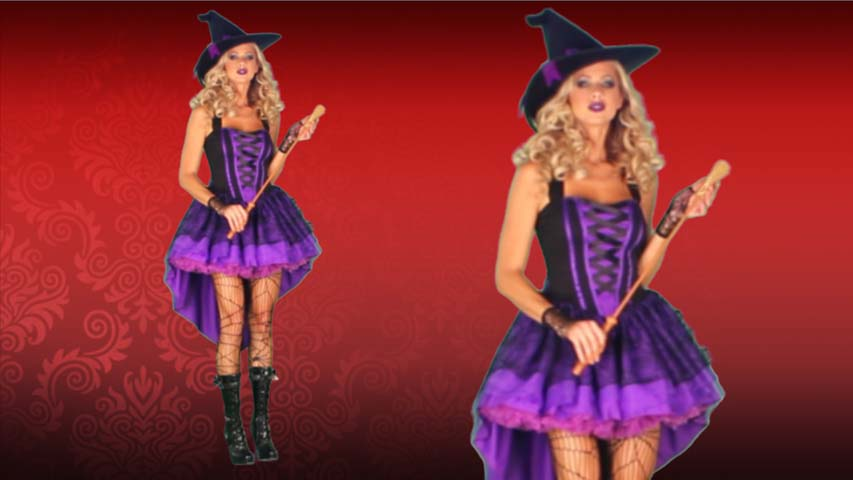 Broomstick Babe Witch Costume