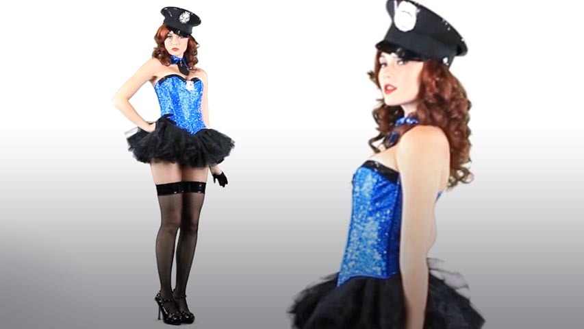 Captivating Cop Costume