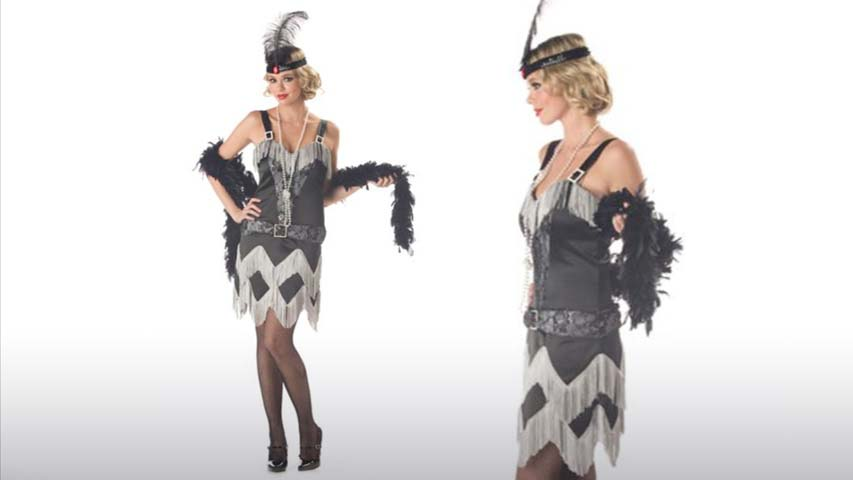 Charleston Cutie Flapper Costume