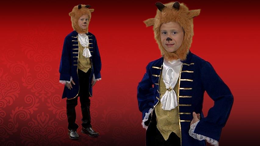 Child Beast Costume