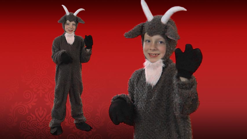 Child Billy Goat Costume