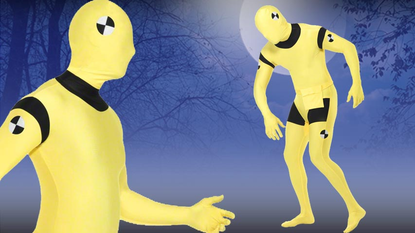 Crash Test Dummy Second Skin Suit