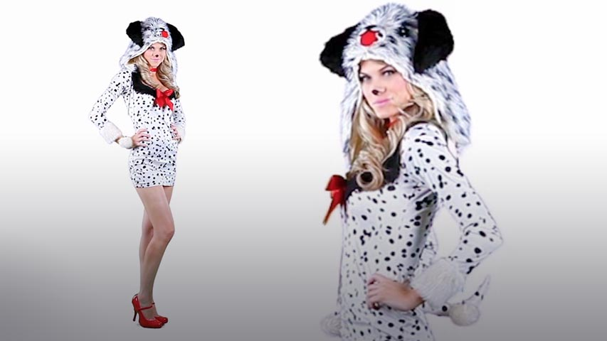 how to make a 101 dalmatian costume