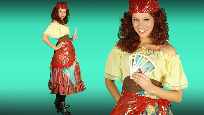 Elite Fortune Teller Costume