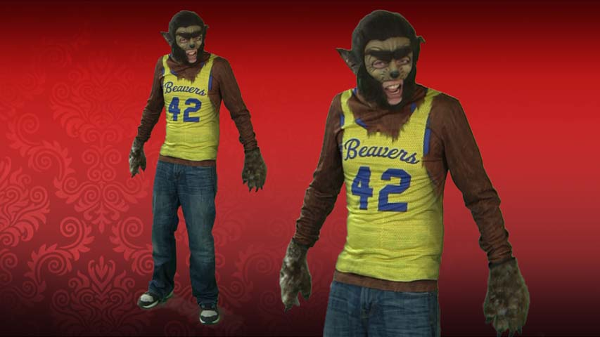 Faux Real Teen Wolf T-shirt costume