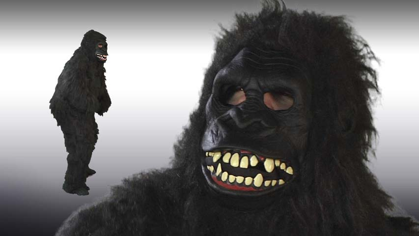 Goin Ape Gorilla Ani Motion Mask