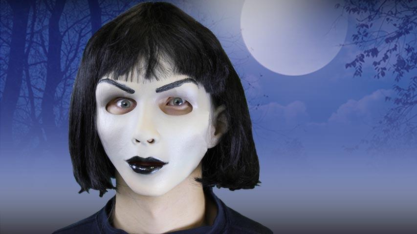 Hot Goth Halloween Mask