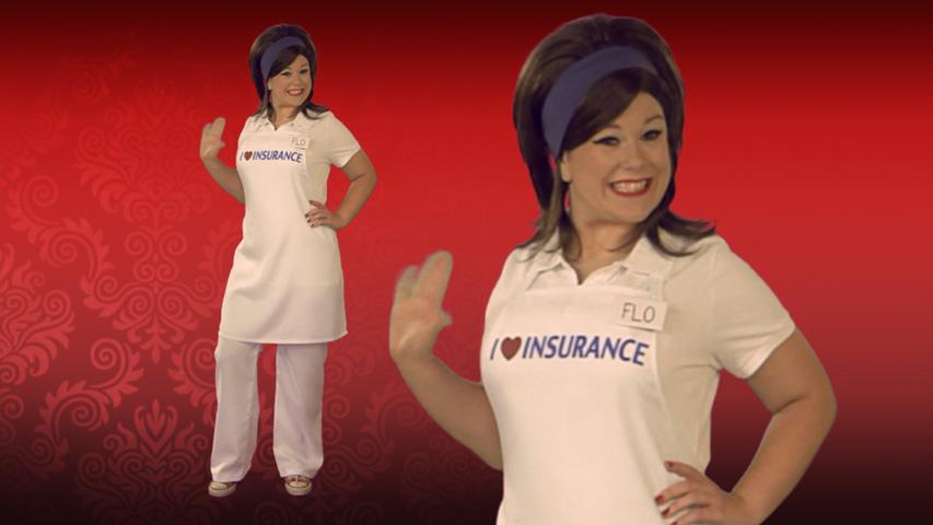 Insurance Lady Costume