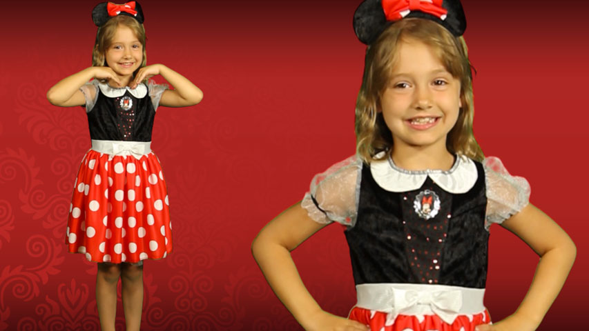 Kids Minnie Mouse Costume