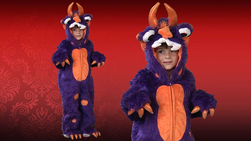 Kids Morris the Monster Costume