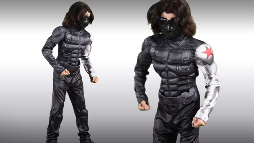 Winter Soldier Classic Muscle Costume