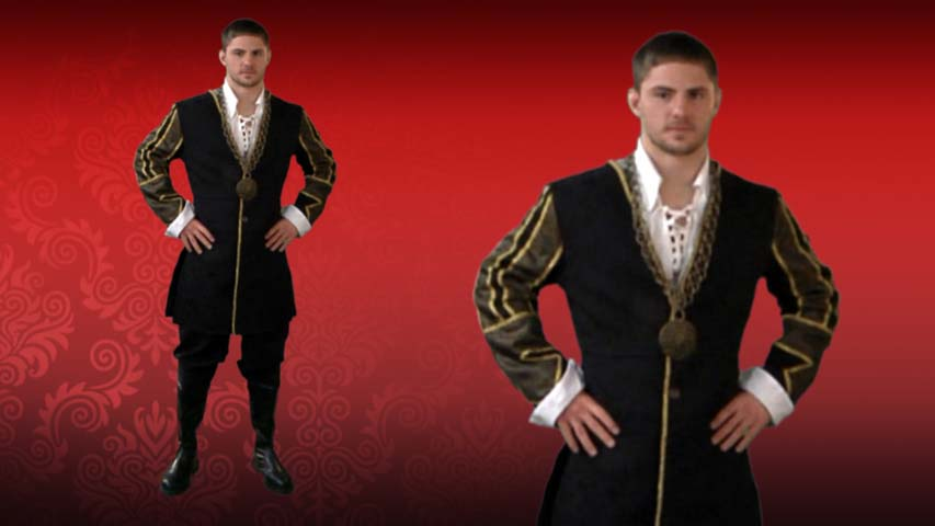 King Henry Costume