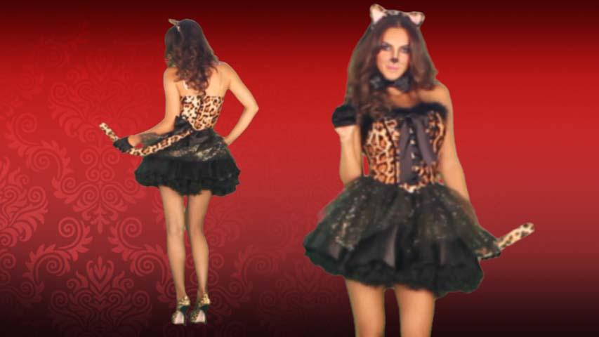 Luxe Leopard Costume