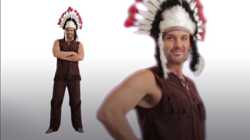 Mens Chief Long Arrow Costume