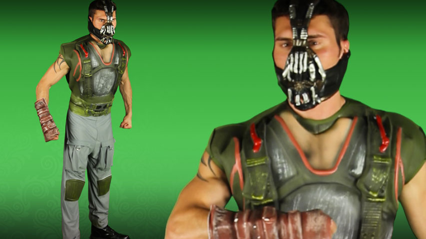Mens Deluxe Bane Costume