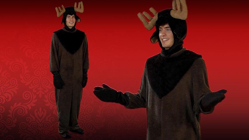 Mens Moose Costume