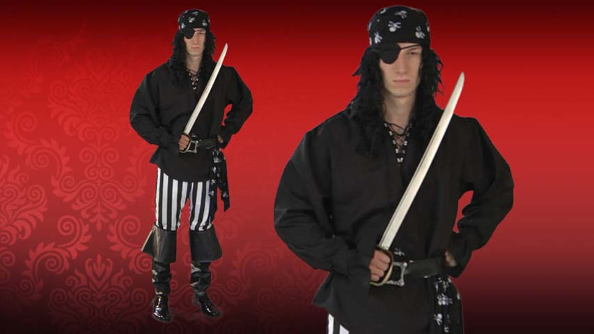 Mens Swashbuckler Pirate Costume