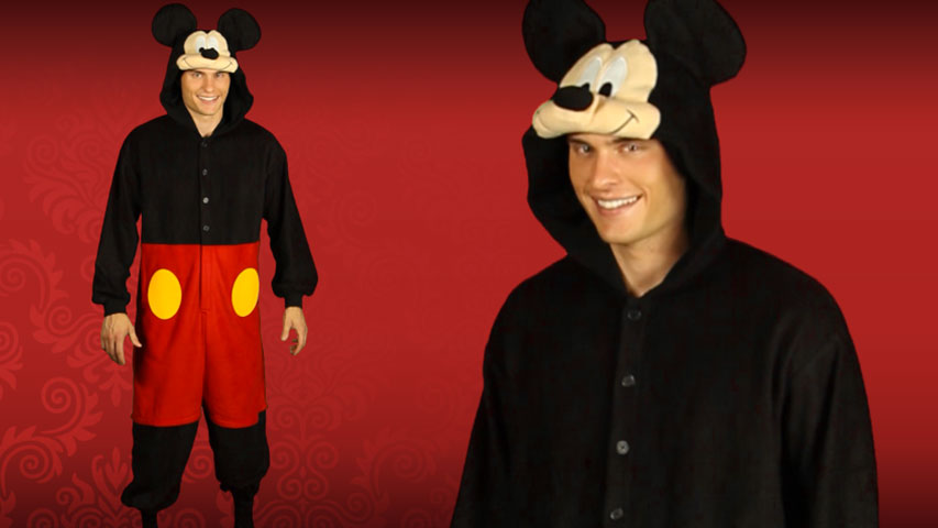 Mickey Mouse Pajama Costume