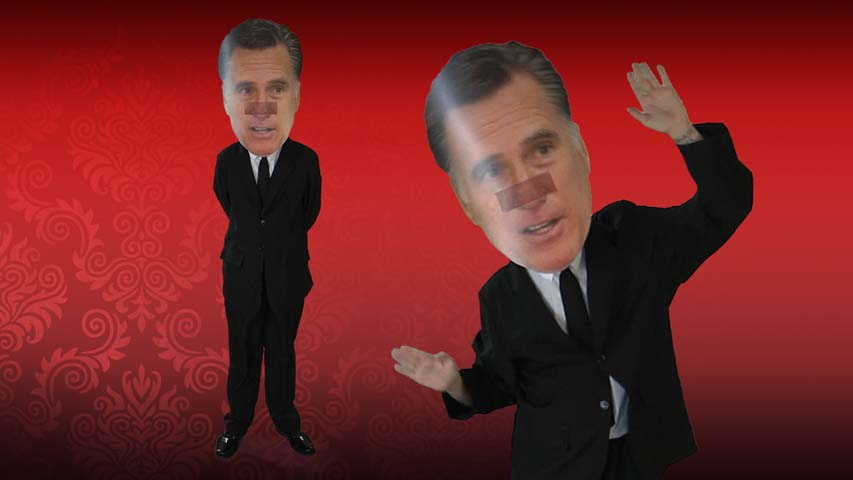 Mitt Romney Big Head Mask