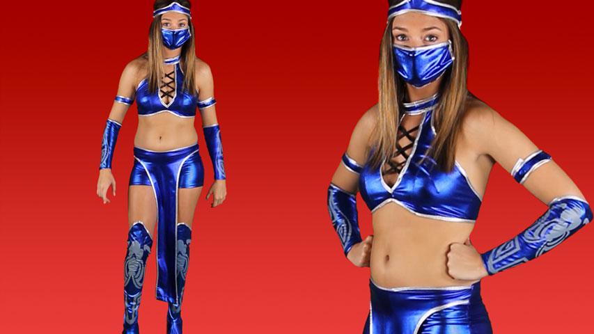 Mortal Kombat Kitana Costume