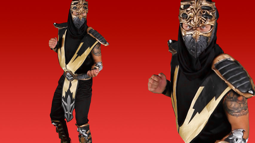 Mortal Kombat Scorpion Costume