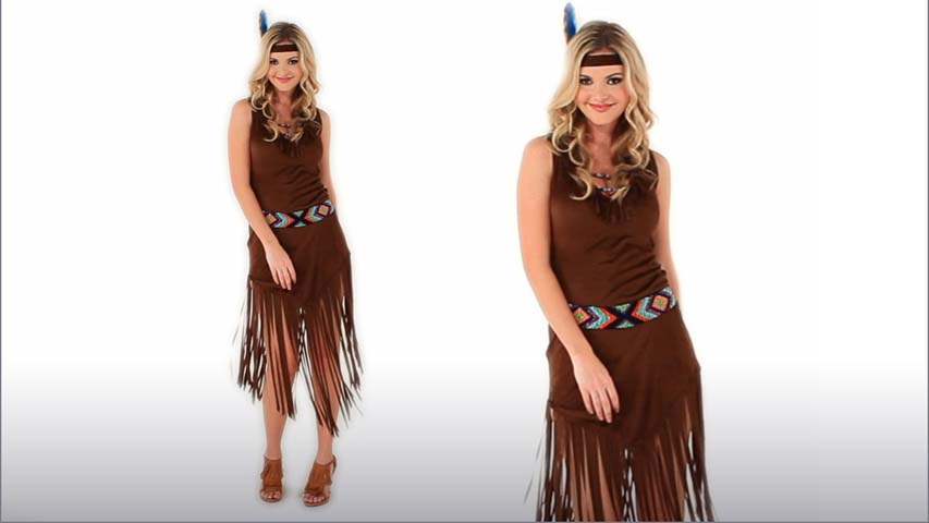 Mystic Indian Maiden Costume