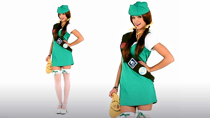 Naughty Girl Scout Costume