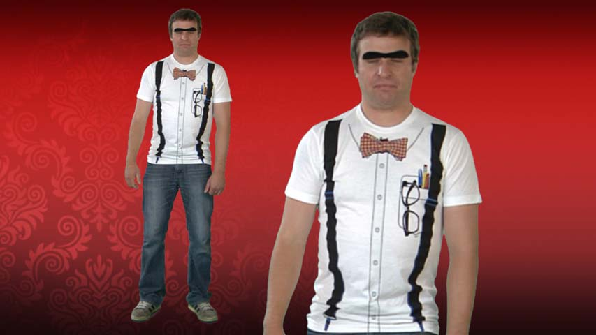 Nerd Costume White T-Shirt