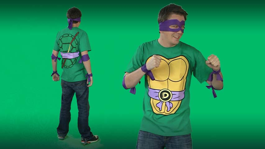 Ninja Turtles Donatello Costume T-shirt