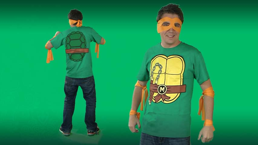 Ninja Turtles Michelangelo Costume T-shirt