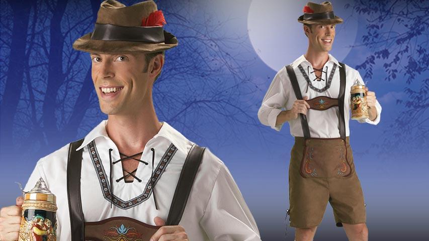 Oktoberfest Guy Costume