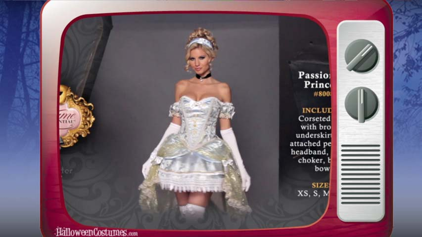 Passionate Princess Costume