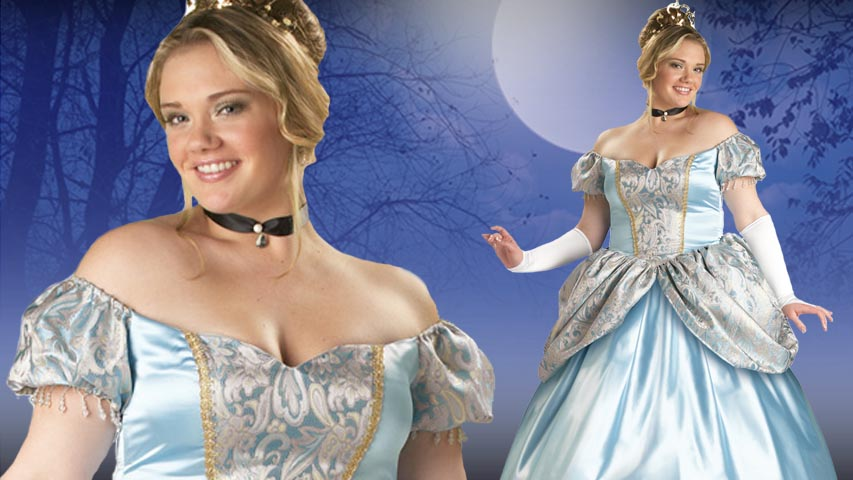 Plus Size Enchanting Princess Costume