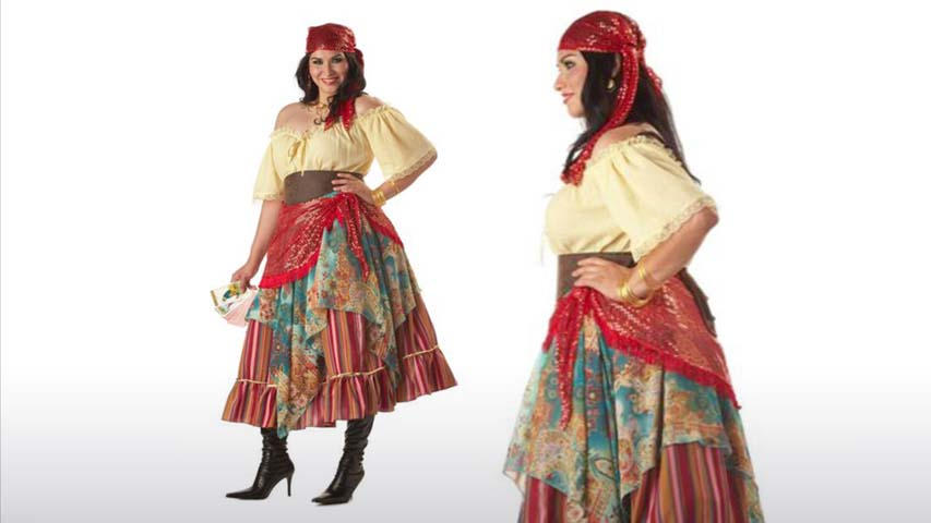 Plus Size Fortune Teller Costume