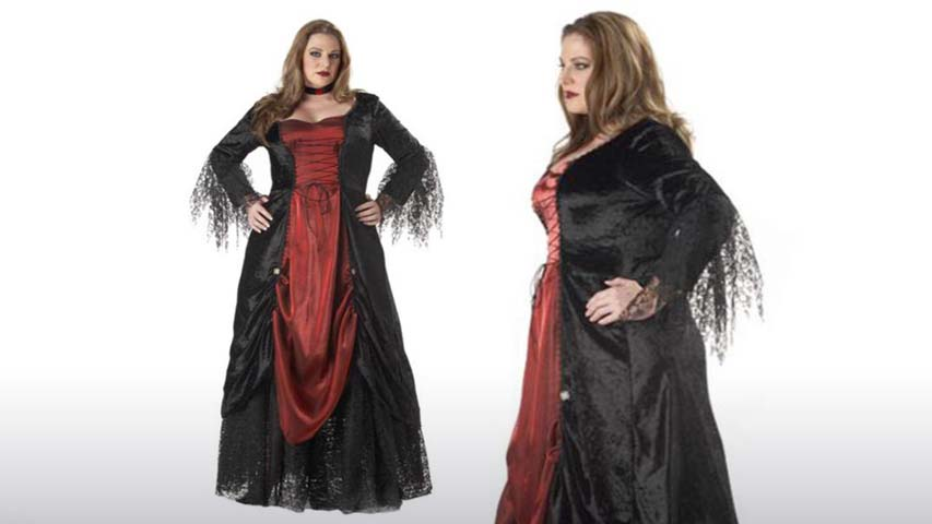 Plus Size Womens Vampire Costume
